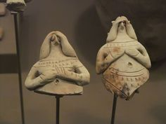 Fragments of Female Figurines from Ur, III Period, Sumer, 2100-2000 BCE