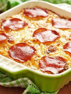 Ein Mix aus Pizza und Spaghetti? Anbetungswürdig