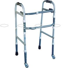 GPC Medical Ltd. - Exporter, Manufacturers & Supplier of Folding wheeled walker, folding walker with wheels, folding adjustable wheeled walker, wheeled walkers from India.