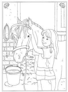 Kleurplaten Paarden In De Stal.45 Verrukkelijke Afbeeldingen Over Kleurplaten Noa En Lara