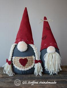 Handmade Christmas Decorations, Felt Christmas Ornaments, Christmas Gnome, Christmas Holidays, Advent, Valentines Diy, Christmas Crafts, Sweet Home, Free Images