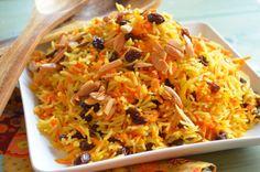 Rice Recipes, Side Dish Recipes, Great Recipes, Carrot Recipes, Savoury Recipes, Chef Recipes, Yummy Recipes, Cooking Recipes, Vegetarian Side Dishes