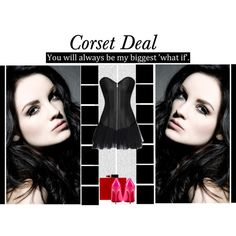 """You will always be my biggest ""what if"" ""   Ingrid Overbust Corset http://www.corsetdeal.com/Ingrid-Overbust-Corset_p_2141.html  Your Price:$79.68 Retail Price:$109.68  Desiree Lace Tu Tu Skirt http://www.corsetdeal.com/Desiree-Lace-Tu-Tu-Skirt_p_2733.html  40% Discount code : XMAS40 #corsetdeal #corset  #waisttrainingcorset"