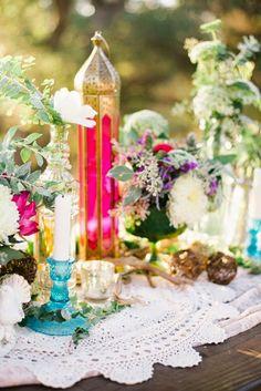 Enjoy The Kiss: Bohemian Bridesmaids Party