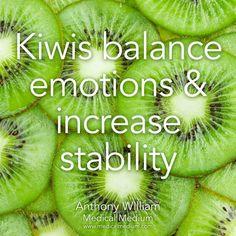 Kiwis balance emotions and increase stability