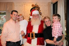 Family time at Greenbrier Golf & Country Club Santa Party!