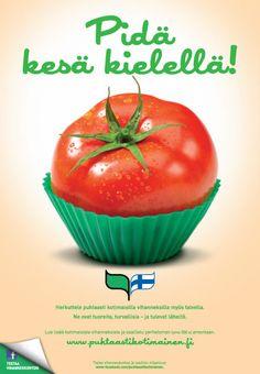 Puhtaasti kotimainen - Pidä kesä kielellä! 2012 Tomatoes, Desserts, Food, Tailgate Desserts, Deserts, Essen, Postres, Meals, Dessert