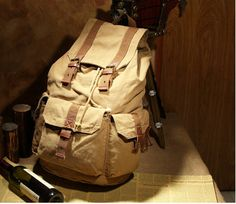 Classic #Canvas Rucksack #Backpack