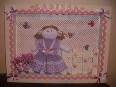 Resultado de imagem para artesanatos para quarto de bebe