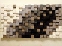Rustic Wood Wall Decor, Reclaimed Wood Wall Art, Wooden Wall Art, Wooden Walls, Wall Wood, Deco Originale, Wood Panel Walls, Room Wall Decor, Mosaic Wall