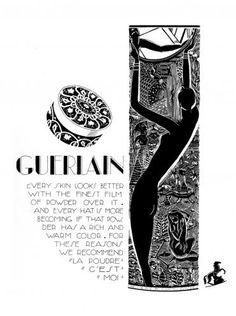 Guerlain face powder (1930)