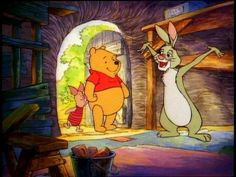 One of the best parts of my childhood: Winnie the Pooh ♥