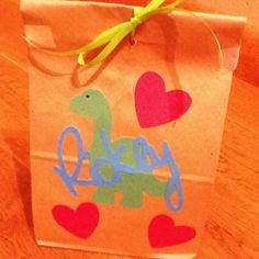 Rickey's Valentine's day bag for daycare