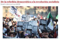 De la rebelión democrática a la revolución socialista