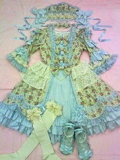Angelic Pretty / One Piece / Victorian Rose OP