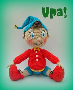 #Amigurumi #noddy #crochet