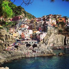 Heaven is a place on earth. Cinque Terre in Italy.