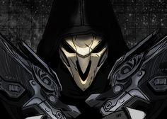 Video Game Overwatch  Reaper Wallpaper