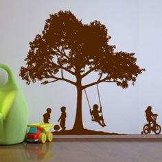 Kids in the Backyard - Wall decals