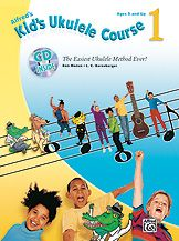 Geared for kids ages five and up, Kid's Ukulele Course 1 is the easiest ukulele method ever, and will get children playing songs on the ukulele right away.  #music #teachmusic #ukulele