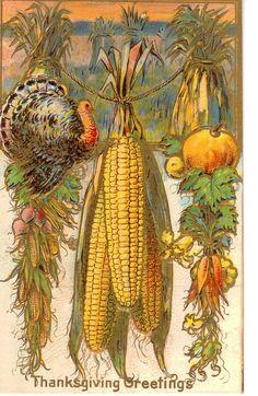 Vintage Thanksgiving Postcard | by bulldoggrrl