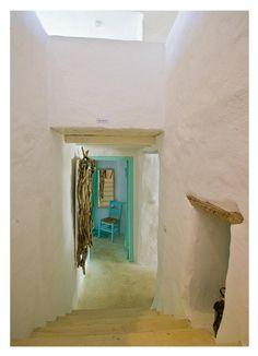 Greek house in island..