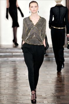 1920s Fashion Channeled in Ralph Lauren Fall 2012 RTW Line