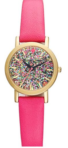 Kate Spade. Love this! Also love the opposite with glitter band but would want to see it in person