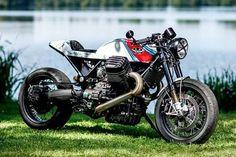 FRIENDS OF DEATH. Radical Guzzi?s Deadly Cool Nitrous Sprint Racer
