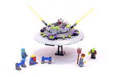 UFO Abduction - LEGO set #7052-1