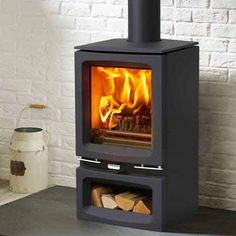 Stovax Vogue Small Multifuel / Wood Burning Eco Stove - Stoves Are Us Small Log Burner, Gas Log Burner, Gas Logs, Wood Burner, Studio Shed, Electric Fires, Stoves, Hearth, My House