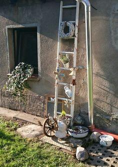 22 Besten Shabby Chic/ Vintage Im Garten Bilder Auf Pinterest In 2018    Garden Art, Gardening Und Kleding