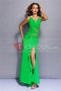 Beautiful And Outstanding Evening Dress Lace Straps V Neck Miriama's Gown--Top Saling