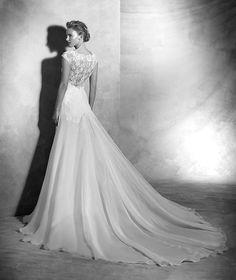 Vital, renda vestido em RENDA para a noiva romântica