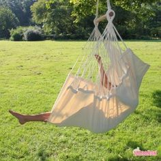 NewLine Hanging chair XL ecru [XL] - €99.00 : High Quality Hammocks, Hanging Chairs, Stands and Accessories, Marañon World of Hammocks