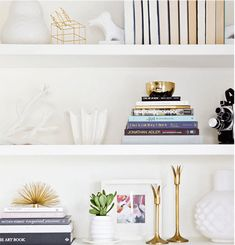 your guide to styling bookshelves