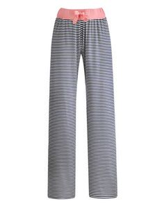 Joules null Womens Jersey Pyjama Bottoms, Navstrp.                     If you're going to laze around make sure it's a stylish affair by keeping these jersey pyjamas bottoms close by. In striking stripes or a brilliant bird print.