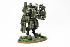 Tau codex is on the way! We found some interesting conversions of battlesuits and vehicles - it's high time to work on your army. Warhammer 40k Figures, Warhammer 40k Art, Warhammer Models, Warhammer 40k Miniatures, Warhammer Fantasy, Tau Battlesuit, Necron Warriors, Tau Army, Miniatures