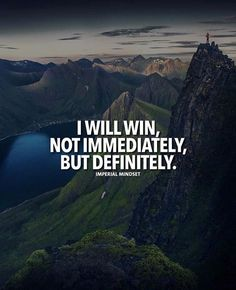 Positive Quotes : QUOTATION – Image : Quotes Of the day – Description I will win.. Sharing is Power – Don't forget to share this quote ! https://hallofquotes.com/2018/04/05/positive-quotes-i-will-win/