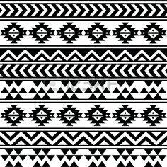 pattern azteque