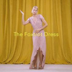 In case of weddings/fancy parties/brunch - The Foxtrot Dress.