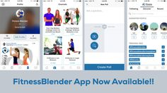 The Fitness Blender APP is here!!! Find it 100% free for IOS @ https://itunes.apple.com/us/app/fitness-blender-workouts/id978899631?mt=8 And for Android @ https://play.google.com/store/apps/details?id=com.creator.fitnessblender Are you guys as excited as we are? See you there! K&D