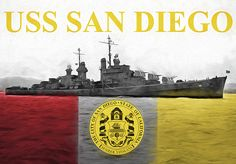 the uss San Diego,uss San Diego,u.s.s. San Diego,uss San Diego cl53,uss San Diego cl-53,San Diego cl 53,us navy,usn cruisers,light cruiser,wwii cruisers,world war two cruisers,pacific theater,naval ships of wwii,navel,night fighter,pearl harbor,light cruiser,light cruisers of wwii,San diego,San diego ca,San Diego california,Cali,city flag,city seal,uss San Diego