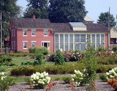 Zoar plant house.