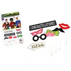 Add some fun to your Hens Night photos with these cool Photo Props. These Photo Booth Party Props come in a pack of 8 and include lips, moustache, crown designs. Photo Booth Party Props, Photo Props, Hens Night Games, Hen Party Accessories, Night Photos, Novelty Items, Party Photos, Moustache, Some Fun