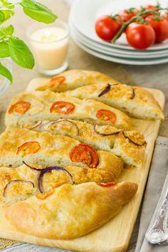 Focaccia recipe step-by-step tutorial