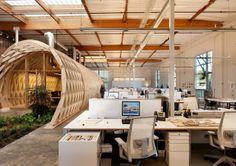 HAYDEN PLACE, OFICINAS SUSTENTABLES.  La nueva oficina del Grupo Cuningham está ubicada en Culver City, California y fue diseñada para reforzar el énfasis de la empresa en la sustentabilidad, la colaboración y la creatividad. Postulando a la certificación LEED Gold, el proyecto cuenta con una serie de elementos sostenibles.
