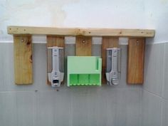 used pallet for soap dispenser