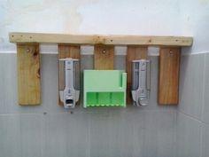 used pallet for soap dispenser