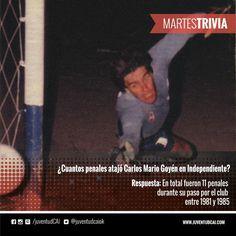 #MartesTrivia Respuesta! ¡Felicitaciones a quienes la sabían!  #Independiente #Goyén